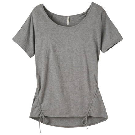 W solitude ss shirt heather gray