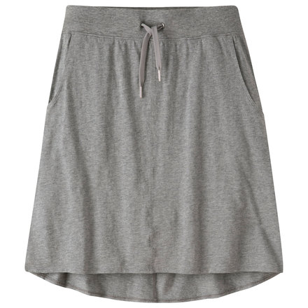 W solitude skirt heather gray