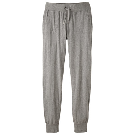 W solitude slouch pant heather gray