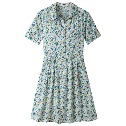 W wildflower dress linen