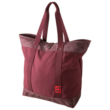 Carry all tote plum