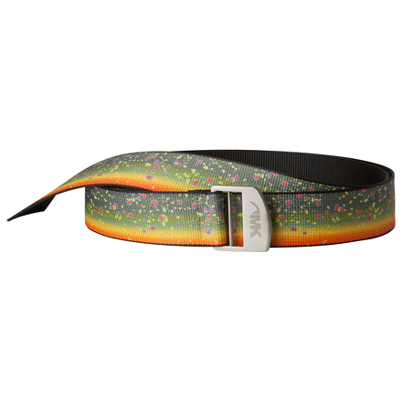 Trout webbing belt brook trout
