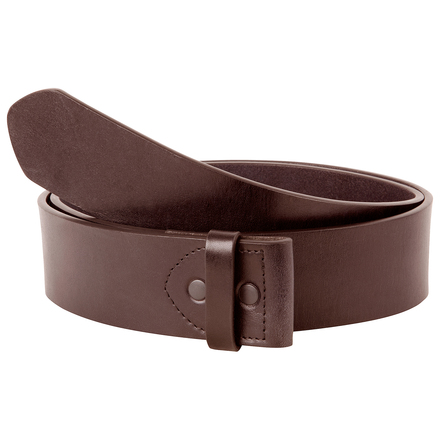 Mk leather belt brown