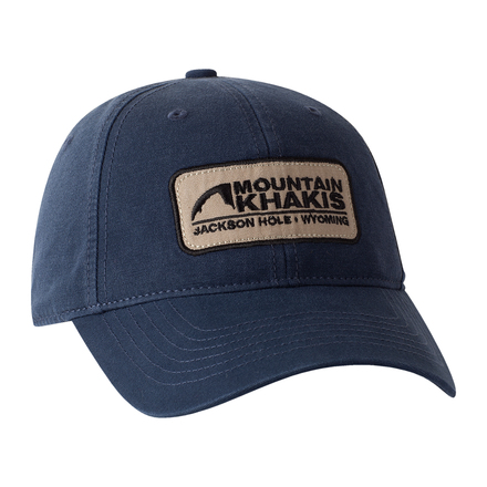 Soul patch cap indigo