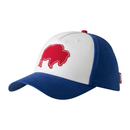 Bison patch flex fit cap