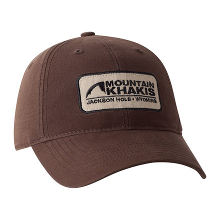 Soul patch cap brown