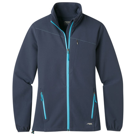 W foxtrot lt softshell jacket midnight blue