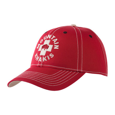 M bison patrol cap red