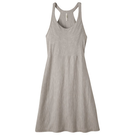 W contour dress city block linen