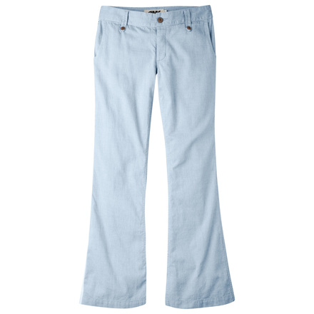 W island pant blue note