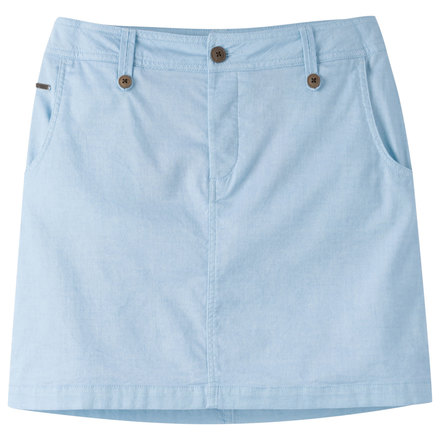 W island skirt blue note