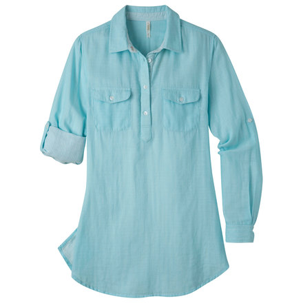 W two ocean tunic shirt glacier