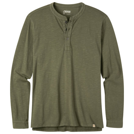 M mixer henley shirt field green