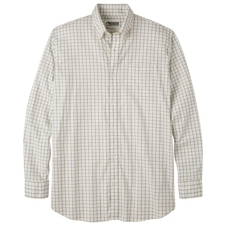 M davidson stretch oxford shirt scout check