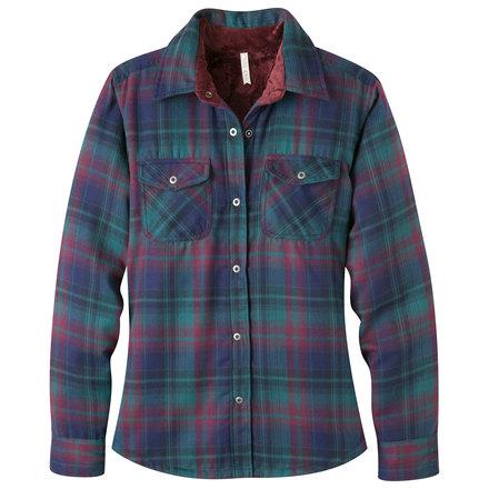 women 39 s christi fleece lined shirt sale mountain khakis