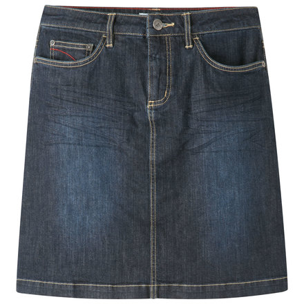 W genevieve jean skirt dark denim