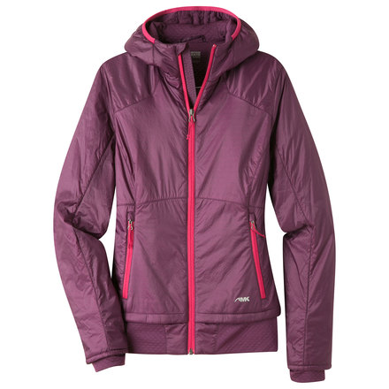 W alpha hooded jacket blackberry