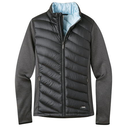 W twist down jacket black
