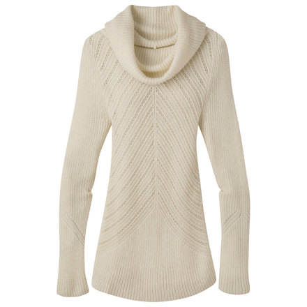 W countryside cowl neck sweater cream