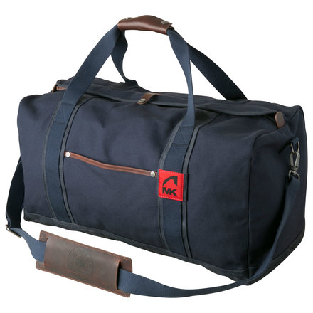 Canvas duffle navy