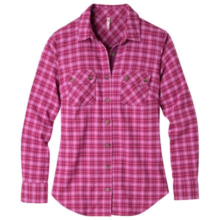 W peak flannel shirt hollyhock