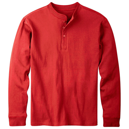 M trapper henley engine red