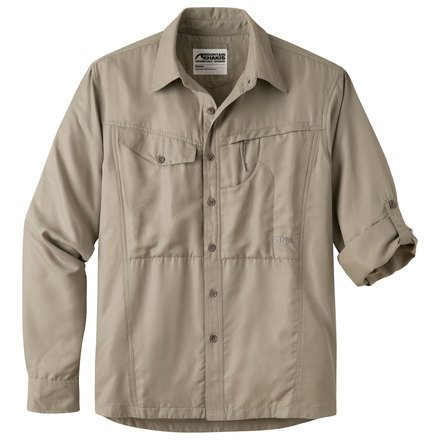 M trail creek ls shirt truffle