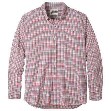 M spalding gingham ls shirt summer red