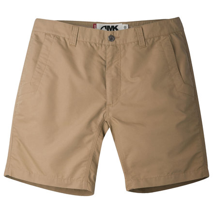 M poplin short slim fit khaki