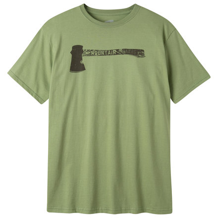 M hatchet ss t shirt wheatgrass