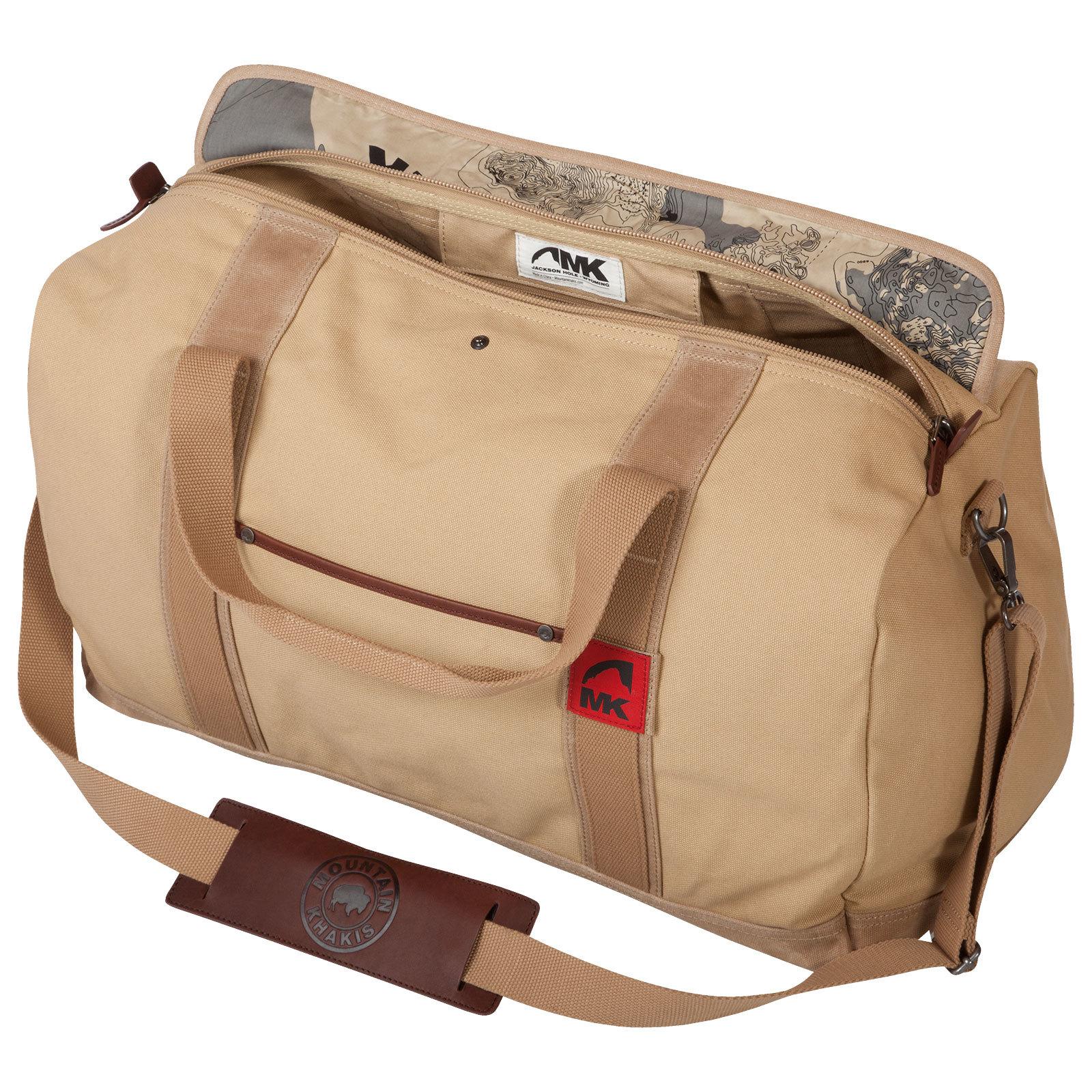 7f5da995eed8 Small Outdoor Canvas Duffle Bag - Mountain Khakis