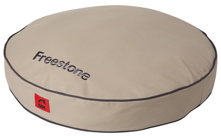canvas recycled, waterproof dog bed - mountain khakis