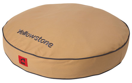 mk canvas recycled waterproof dog bed