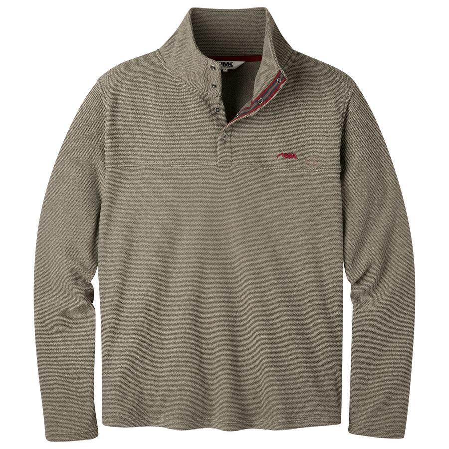 c742a358 Pop Top Pullover | Men's Jacquard Fleece Pullover | MK