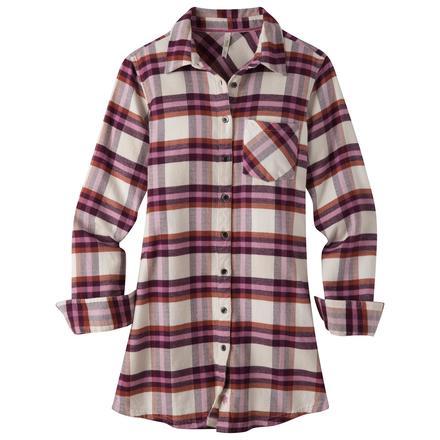 Women's Penny Flannel Tunic (Sale) - Mountain Khakis