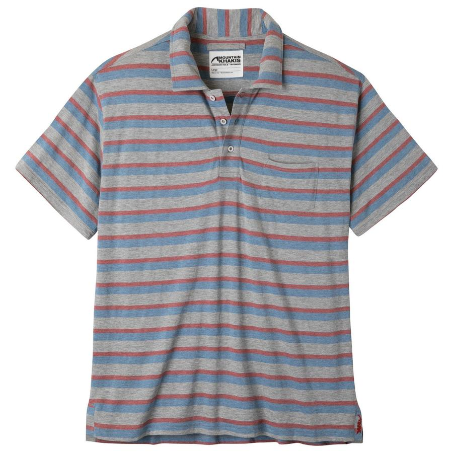 Patio polo shirt wrinkle resistant shirt polo shirt mk color rojo stripe geenschuldenfo Image collections