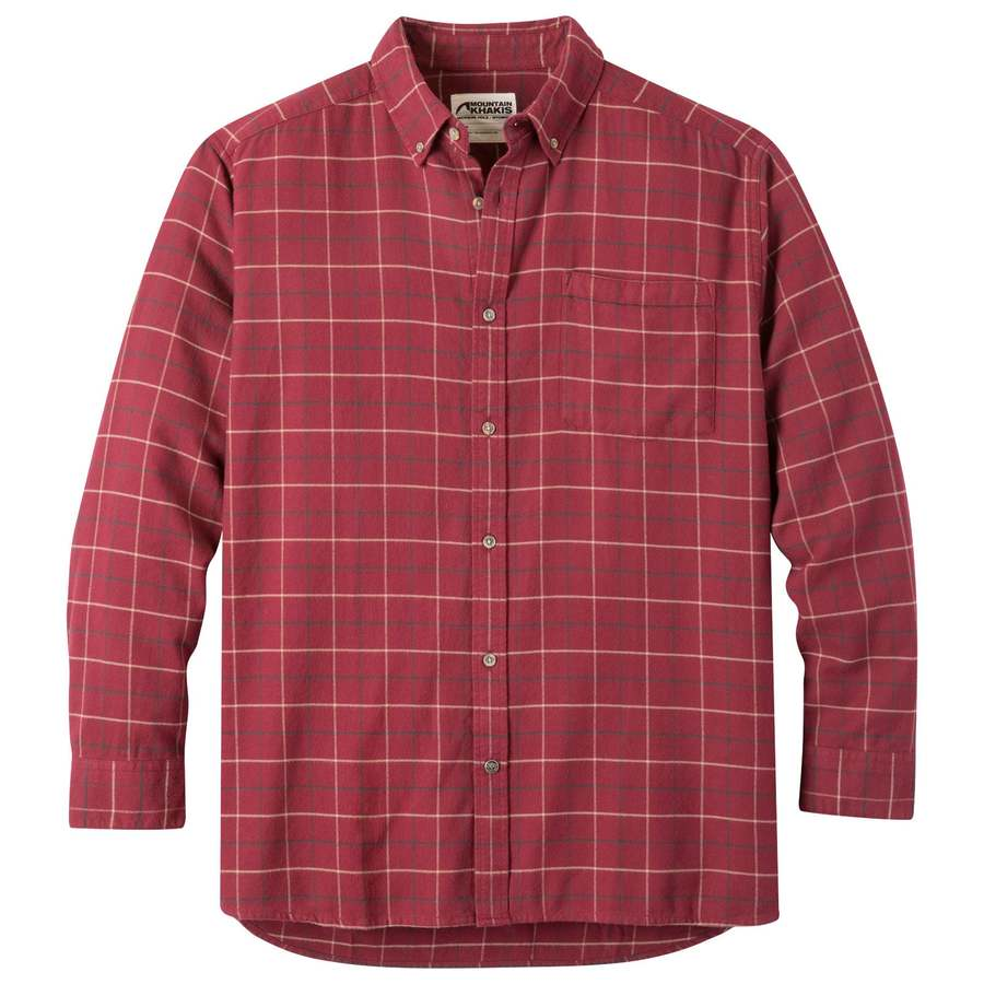 Downtown Flannel Men S Plaid Flannel Shirt Mk