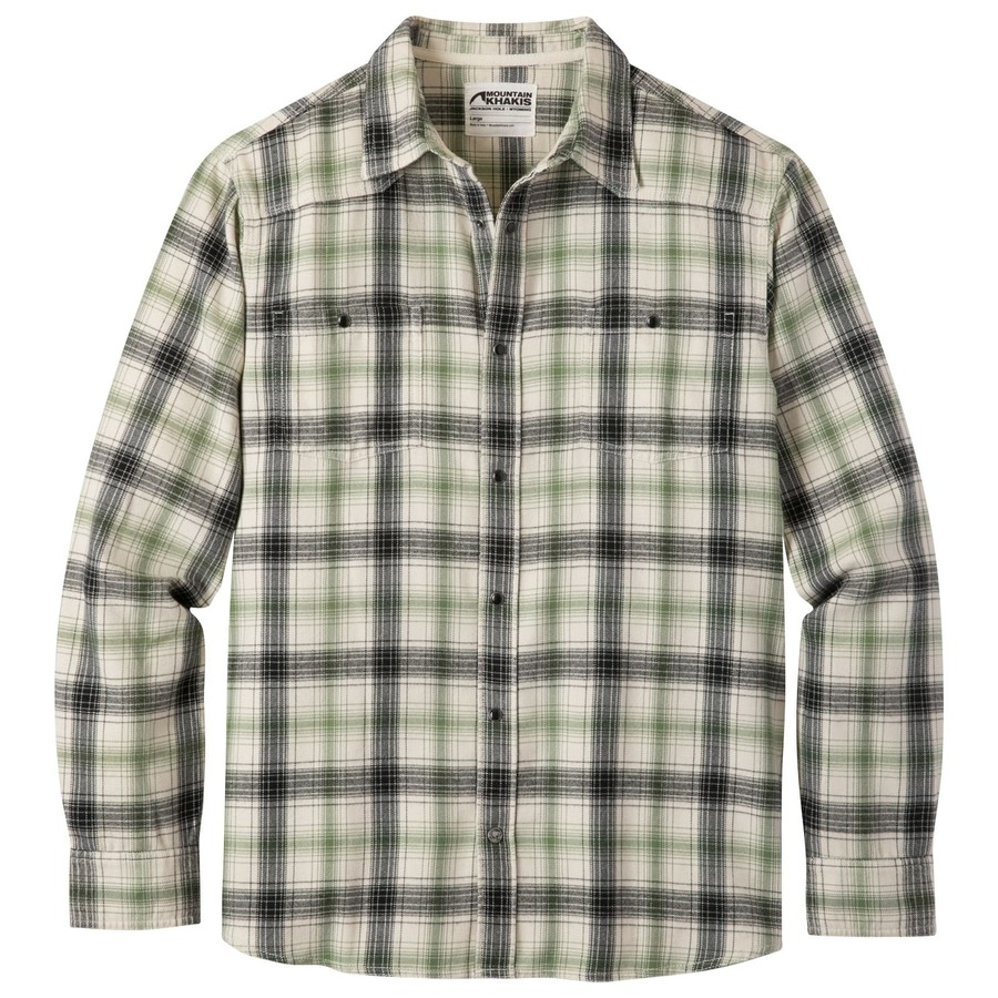 Saloon Flannel Men S Plaid Flannel Shirt Mountain Khakis