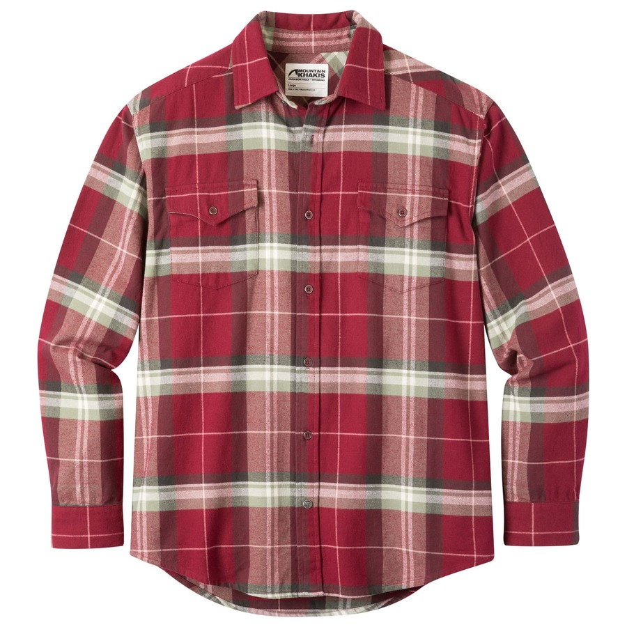 Teton Flannel Men S Plaid Flannel Shirt Mountain Khakis