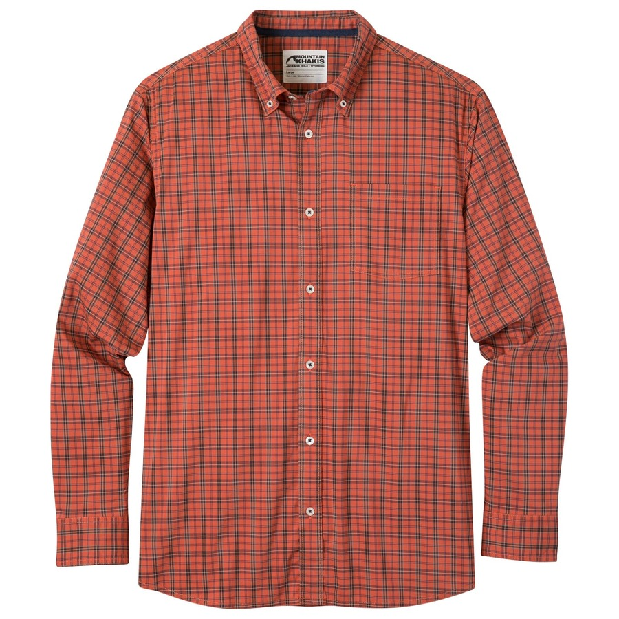 Mens Uptown Tattersall Shirt Sale Stretch Easy Care Mk